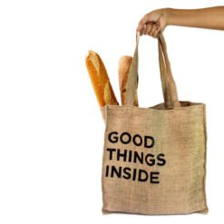 Bolso de yute Good Things Inside