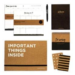 Kit Completo, papeleria, mousepad planner, Regalo