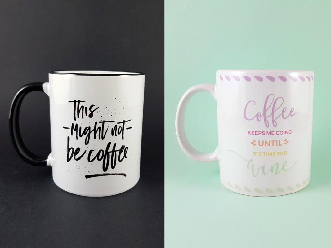 Tazas Espresso y Happy Days - Dulce Compañía