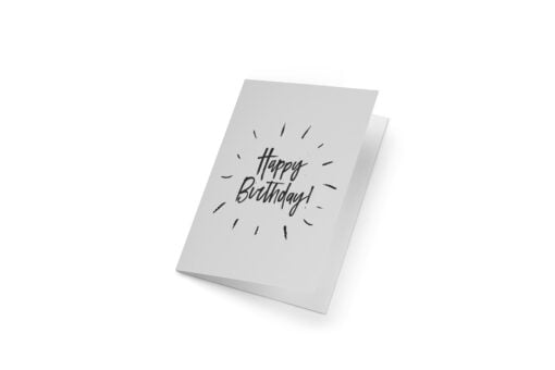 Tarjeta Espresso Happy Birthday