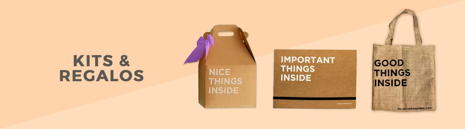 Banner kits y regalos Dulce Compañía