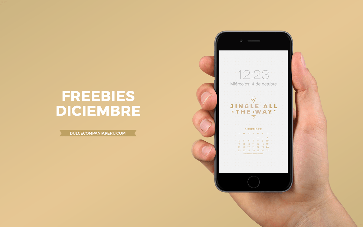 Banner Blog Post Freebies Wallpapers Diciembre