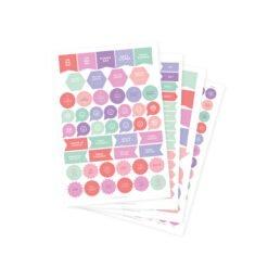 Stickers para Agenda Dulce Compañía 2018