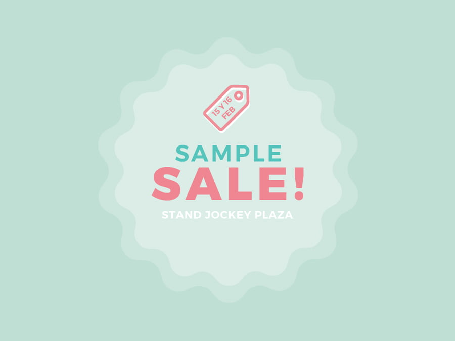 Sample Sale Stand Dulce Compañía Jockey Plaza