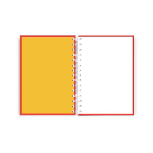 Interior de Cuaderno hojas blancas colección POP! de Dulce Compañía Perú