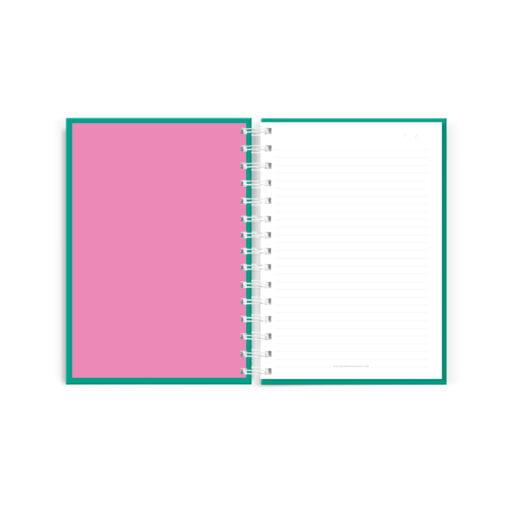 Interior de Cuaderno rayado colección POP! de Dulce Compañía Perú