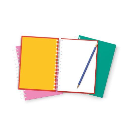 Pack de 3 cuadernos colección POP! de Dulce Compañía con lápiz