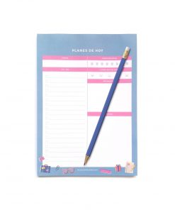 Daily planner colección POP! de Dulce Compañía con lápiz