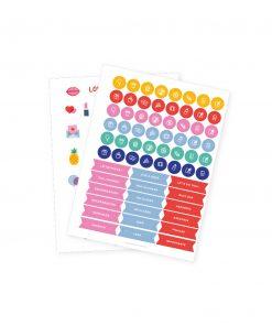 Set de stickers colección POP! de Dulce Compañía
