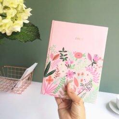 Cuaderno pink colección Flora personalizado dia de la madre