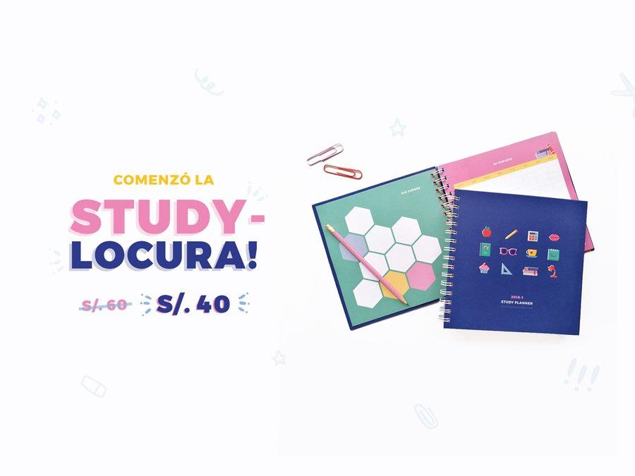 Study-LOCURA! Promoción de Study Planners