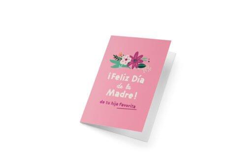 tarjeta dia de la madre dulce compania