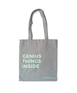 Bolso de tela Genius Things Inside de Dulce Compañía