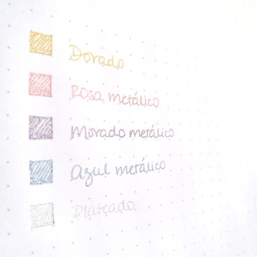 Lapiceros de gel Pop'Lol de Pilot en 5 colores metálicos en Dulce Compañía