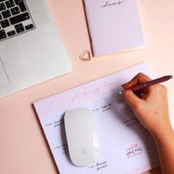 Planificador semanal, Mérida, organización, papelería, dulce compañía