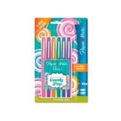 Paper Mate Flair Candy Pop Marker Pen Lapiceros Finepen Dulce Compañía Complementos