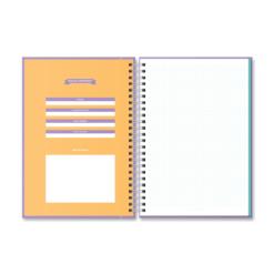 Cuaderno rayado cuadriculado dulce compañia A4 universitario