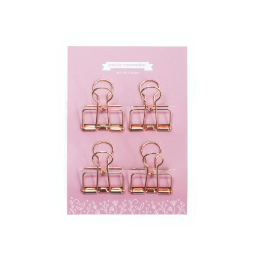 clips rosegold